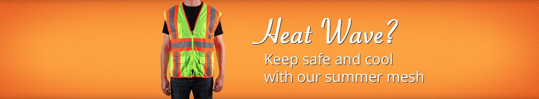 Safety Vests Heat Wave