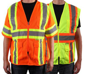 Class 2 safety vests