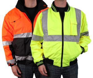 ANSI class 3 reflective safety jackets